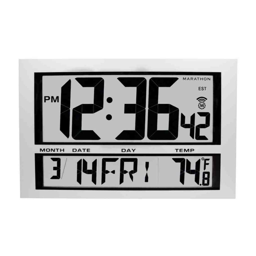Jumbo Digital Wall Clock