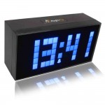 Lighted Digital Wall Clock