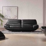 Modern Leather Living Room Furniture Sets