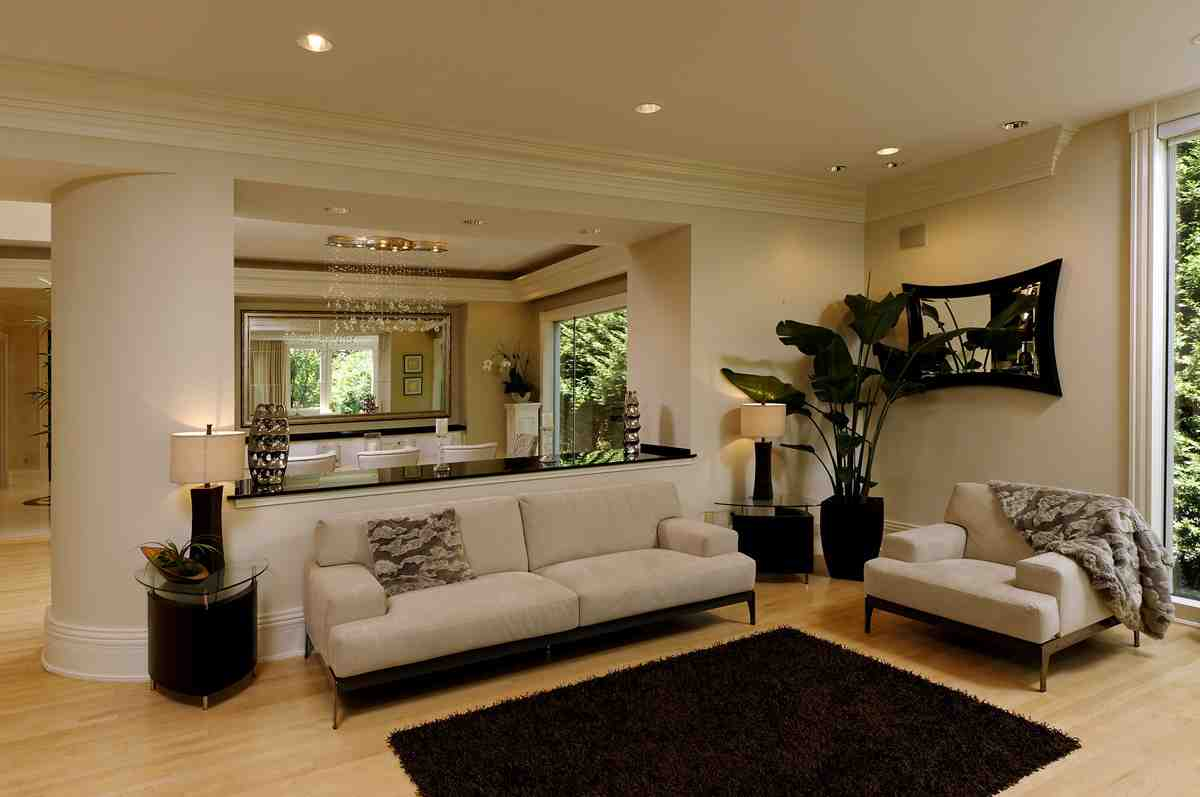 Neutral wall colors for living room decor ideasdecor ideas Brown wall color living room