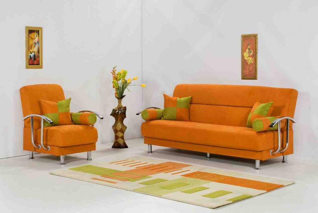 Orange Living Room Chairs