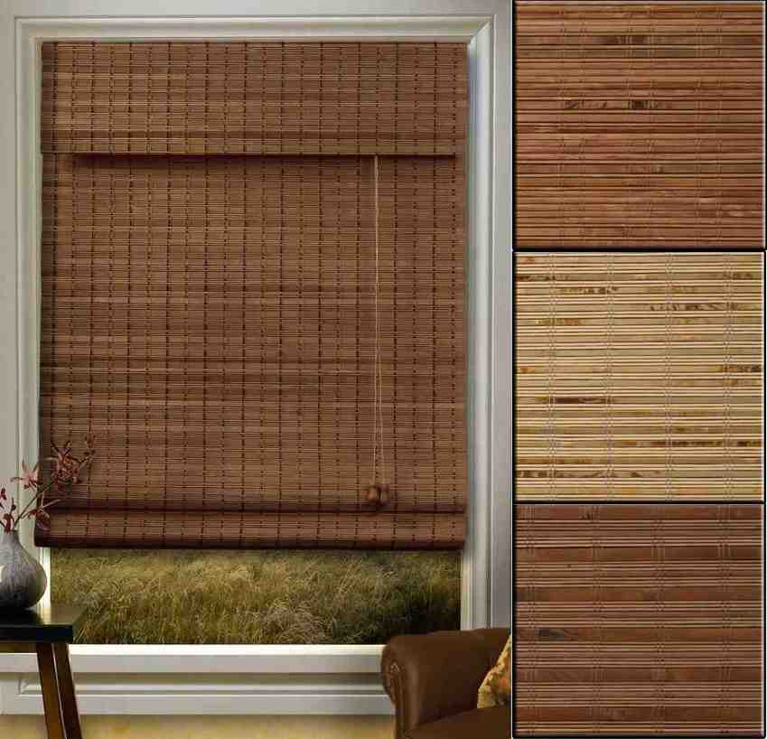 Outdoor Bamboo Blinds Decoration Ideas Within