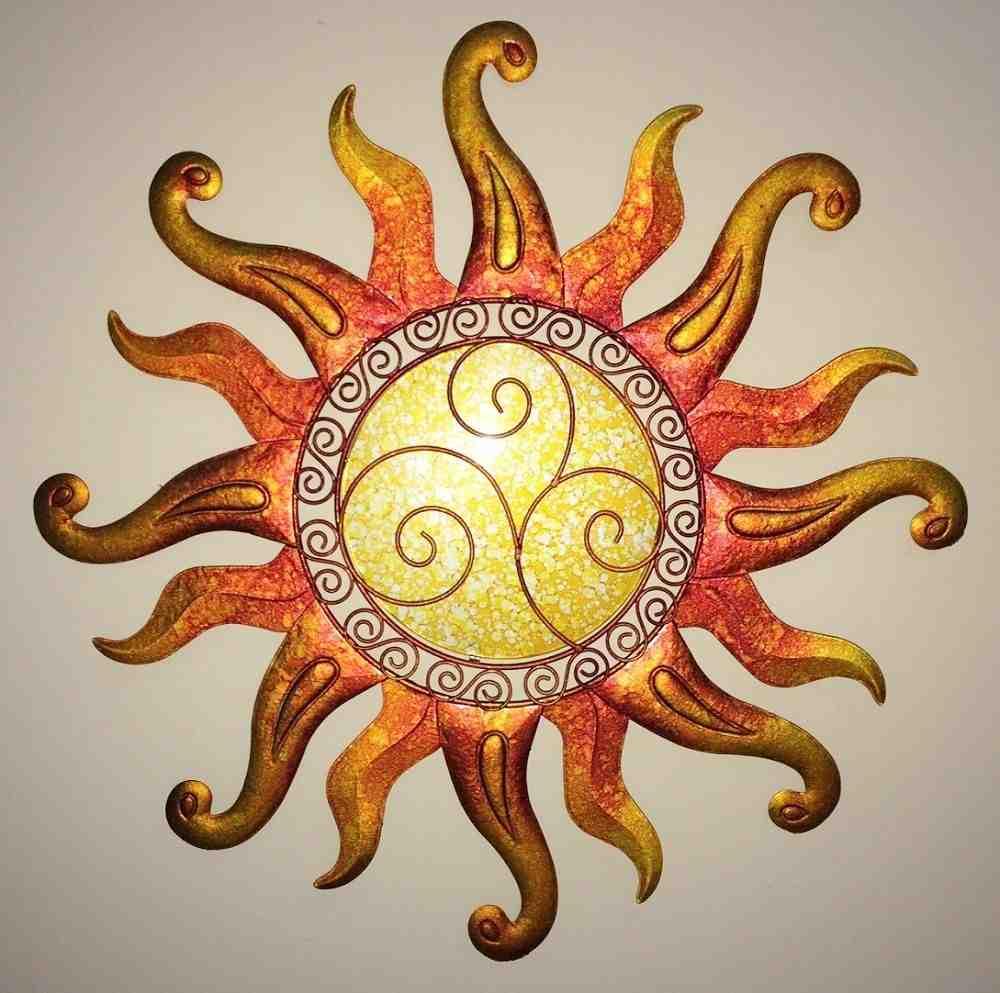Outdoor sun wall decor decor ideasdecor ideas for Sun wall art