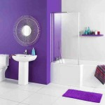 Purple Bathroom Wall Decor