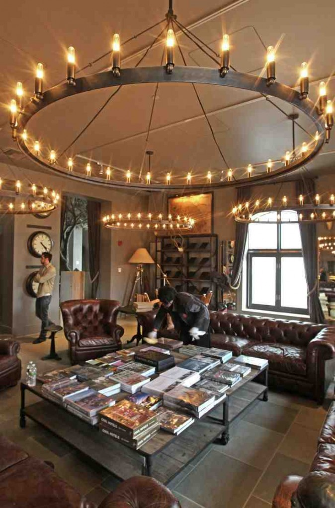 Restoration Hardware Chandelier Floor Lamp