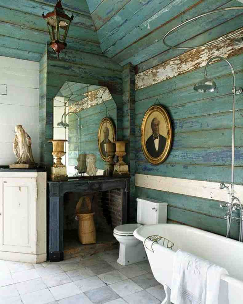 Rustic bathroom wall decor decor ideasdecor ideas for Bathroom ideas rustic