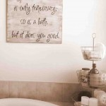 Wall Decorations for Bathroom