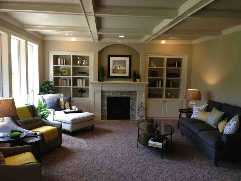 Warm wall colors for living rooms decor ideasdecor ideas - Airy brown and cream living room designs inspired from outdoor colors ...