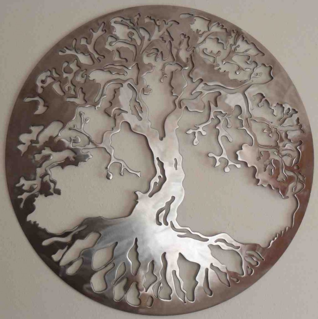 Wrought Iron Tree Wall Decor