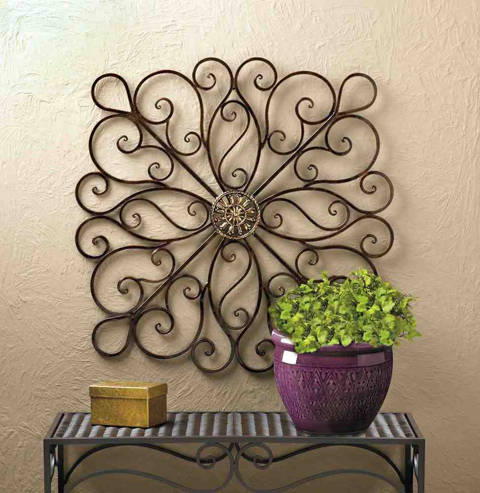 Wrought iron wall decor accent your home decor for Home decorators wall art