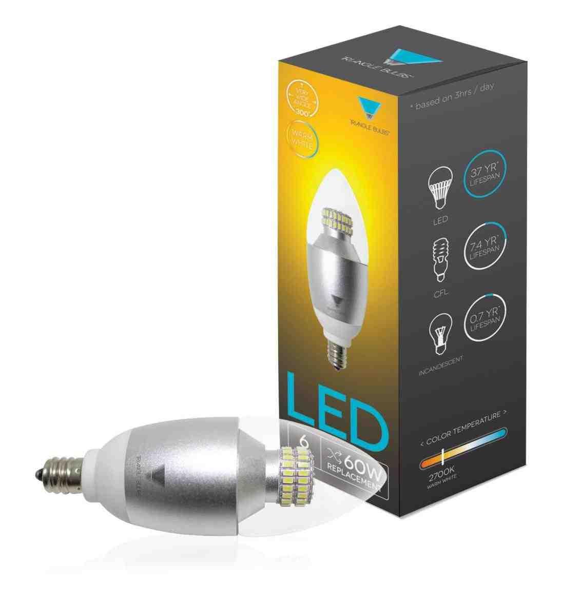 60 watt led candelabra bulb decor ideasdecor ideas. Black Bedroom Furniture Sets. Home Design Ideas