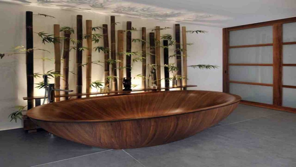 Bamboo Bathroom Decor