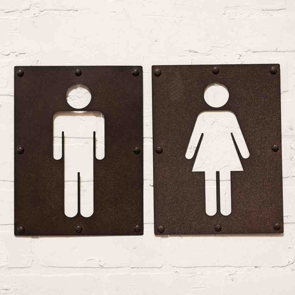 Bathroom Decor Signs