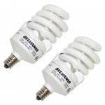 Candelabra Base CFL Bulbs