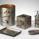 Cherry Blossom Bathroom Decor