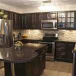 Dark Oak Kitchen Cabinets