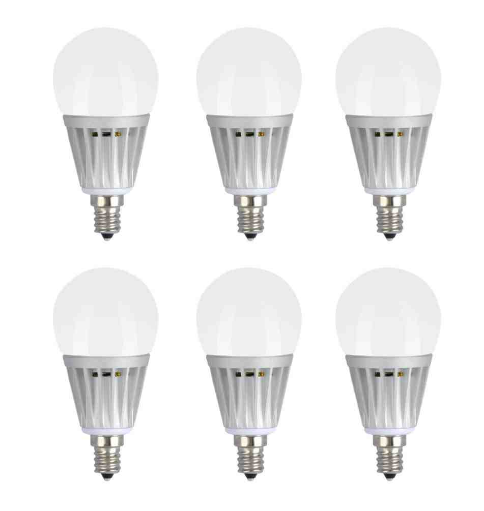 Daylight Candelabra Bulbs
