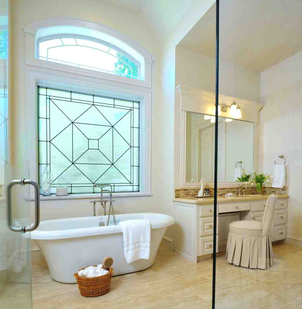 Decorative bathroom windows decor ideasdecor ideas for Bathroom window designs