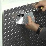 Diamond Plate Wall Covering