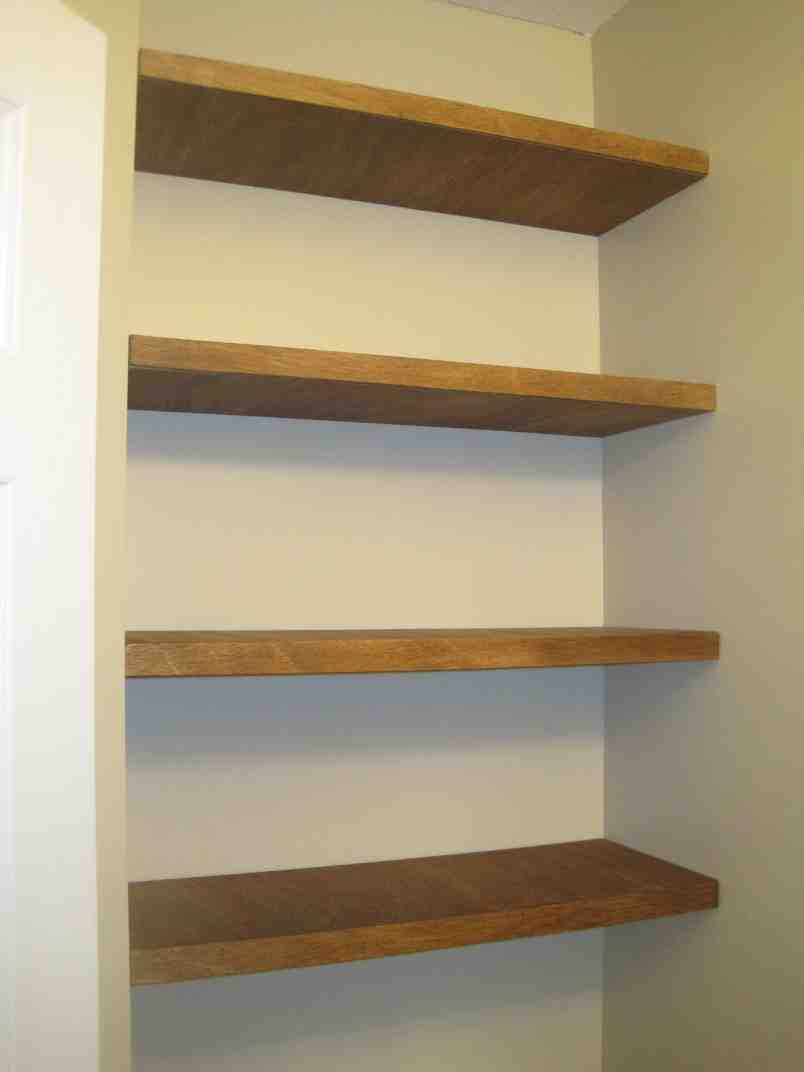 Diy floating wall shelves decor ideasdecor ideas for How to make wall shelves easy