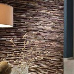 Faux Wood Wall Covering