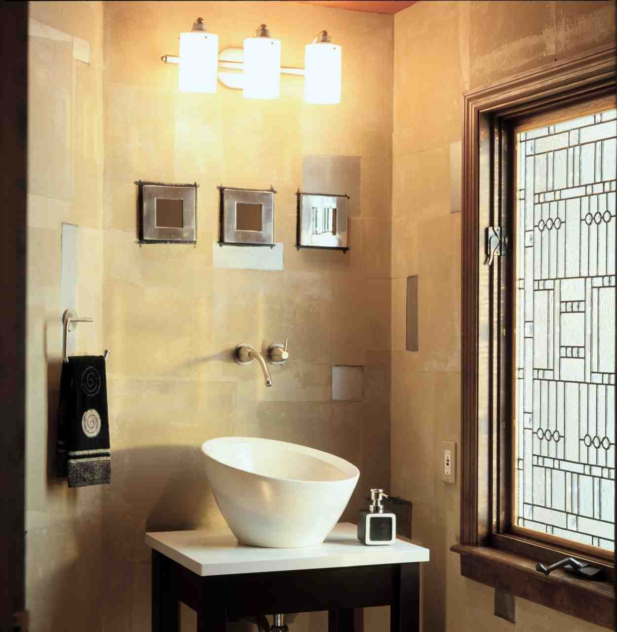 Impress Guests With 25 Stylish Modern Living Room Ideas: Guest Bathroom Decor Ideas