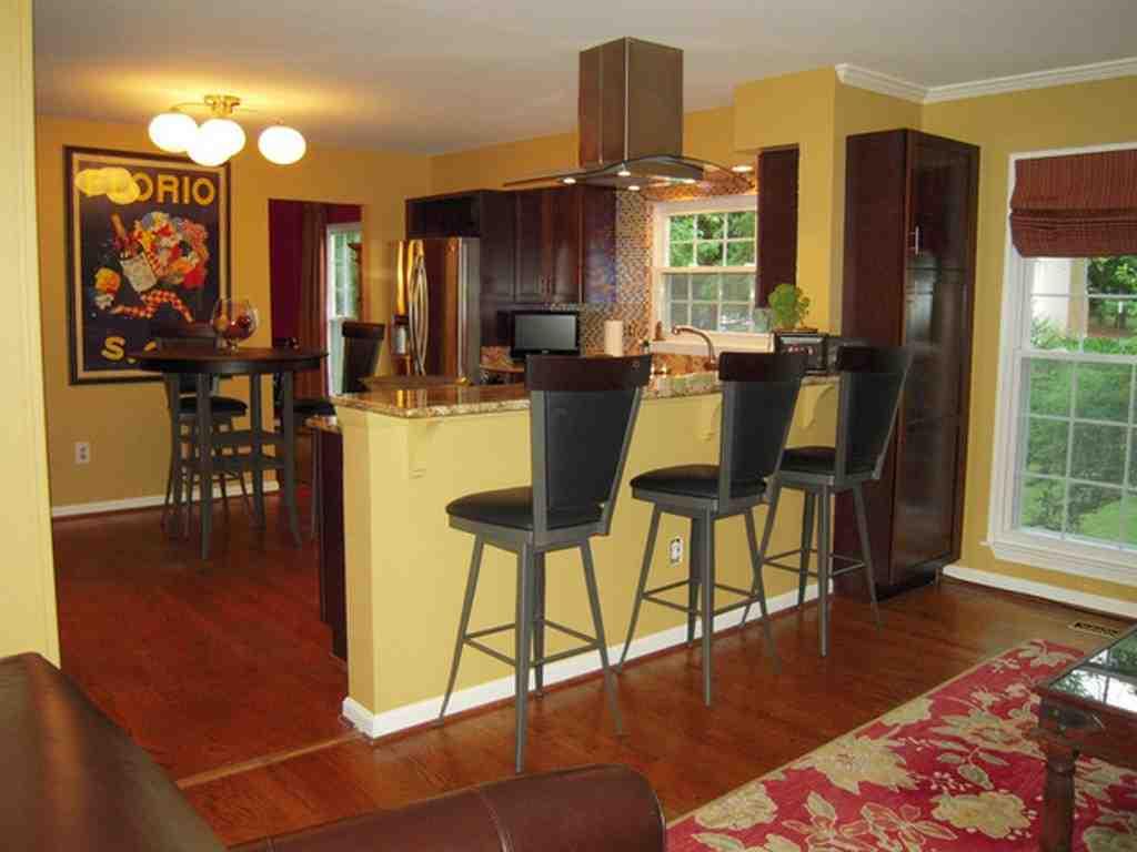Kitchen Paint Color Ideas With Oak Cabinets Decor