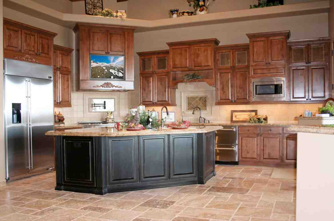 Medium Oak Kitchen Cabinets Decor Ideasdecor Ideas