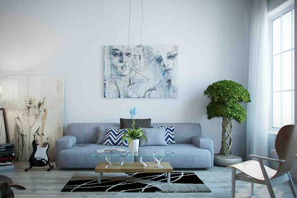 Modern paintings for living room decor ideasdecor ideas - Contemporary wall art for living room ...