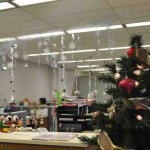 Office Christmas Decorating Themes