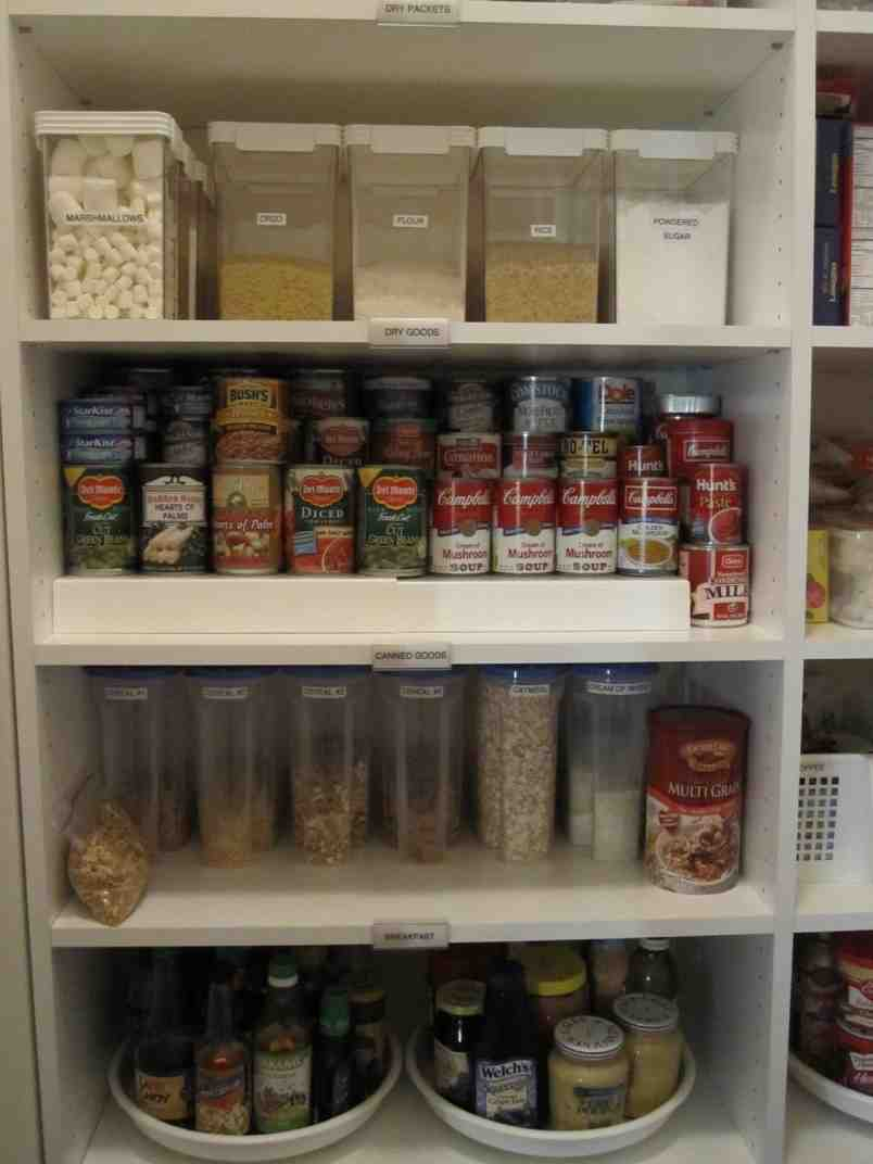 Organize pantry shelves decor ideasdecor ideas for How to organize your pantry shelves