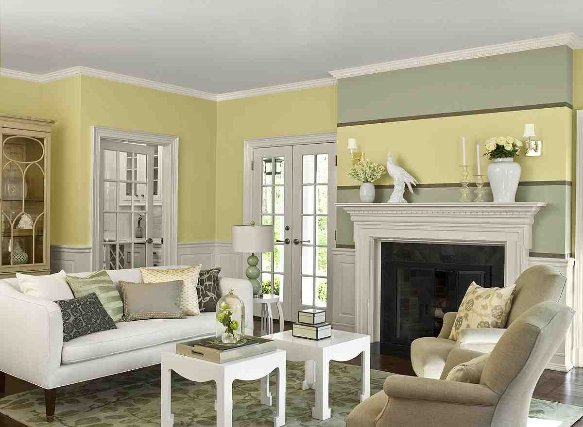 Paint color schemes living room decor ideasdecor ideas Good living room paint colors