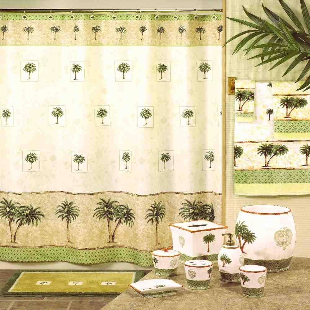 Palm tree bathroom decor decor ideasdecor ideas for Palm tree bathroom ideas