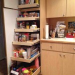 Pantry with Pull Out Shelves