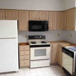 Pickled Oak Kitchen Cabinets