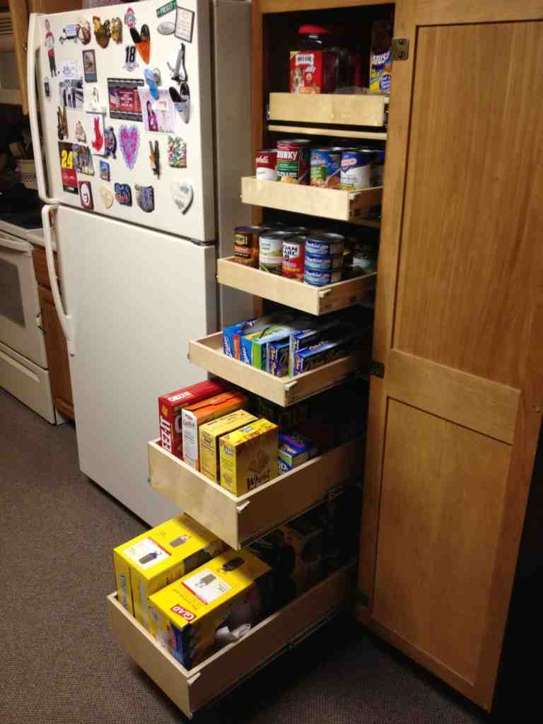 Pull Out Pantry Shelves Decor IdeasDecor Ideas