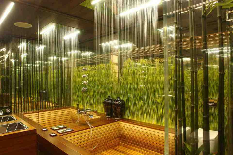 Rainforest Bathroom Decor