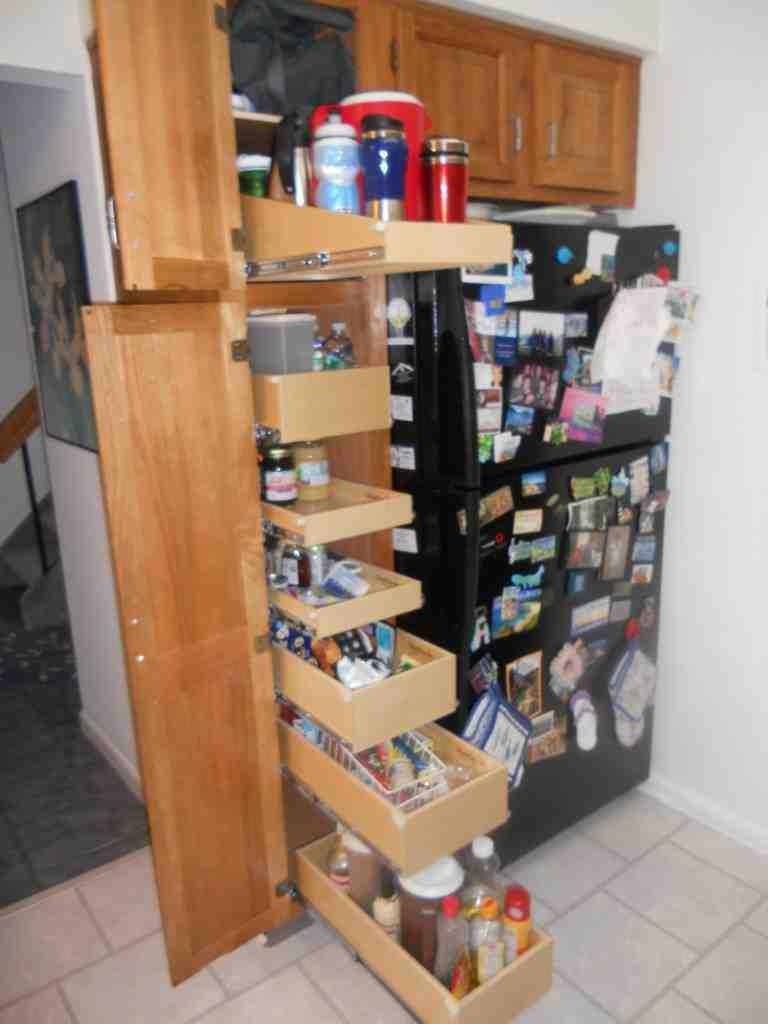 Roll Out Pantry Shelves Decor Ideasdecor Ideas