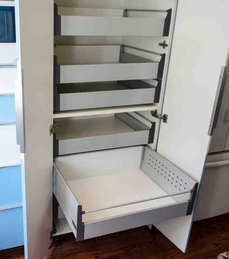 Slide Out Pantry Shelves