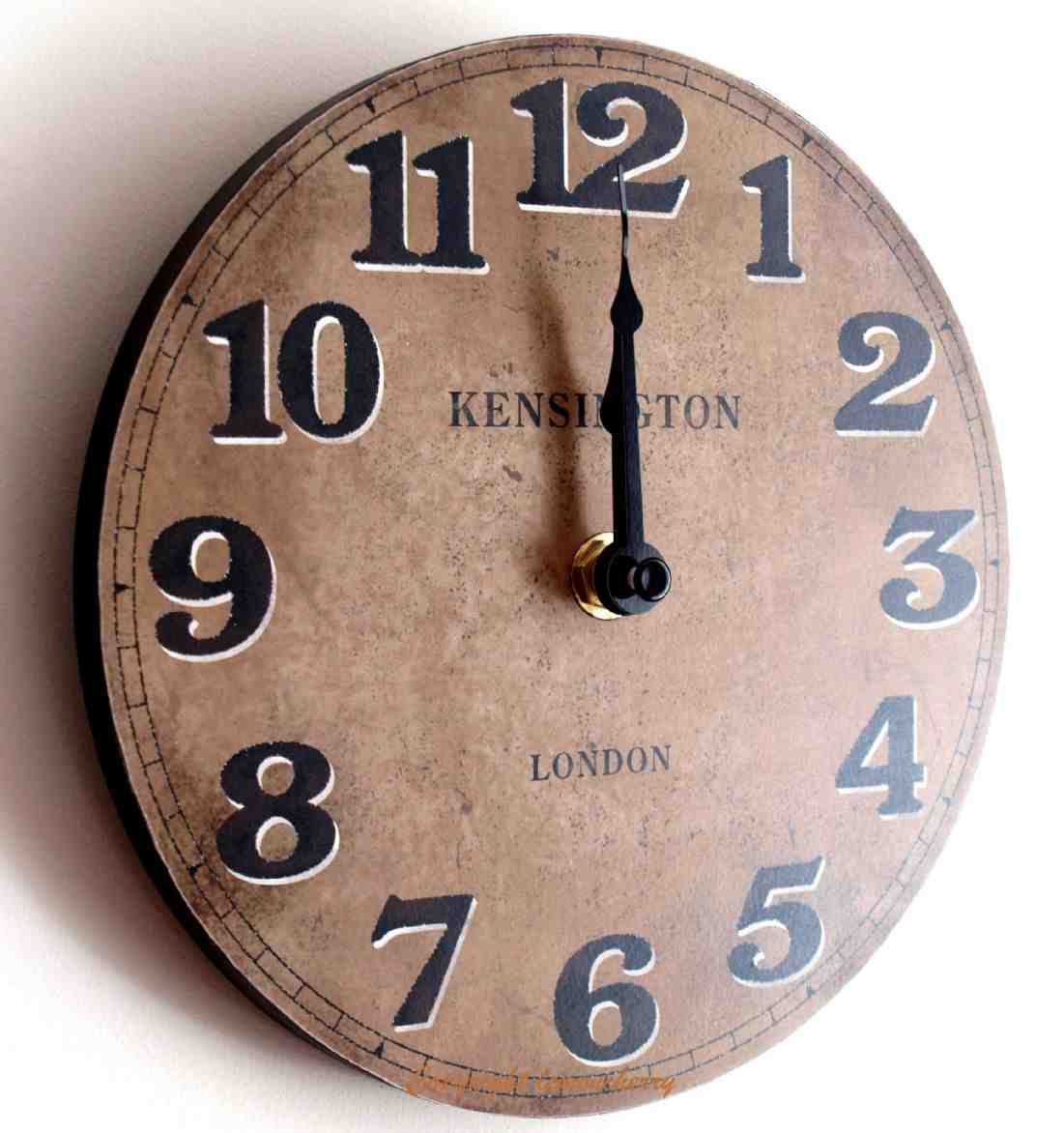 Small kitchen wall clocks decor ideasdecor ideas - Small kitchen clock for wall ...