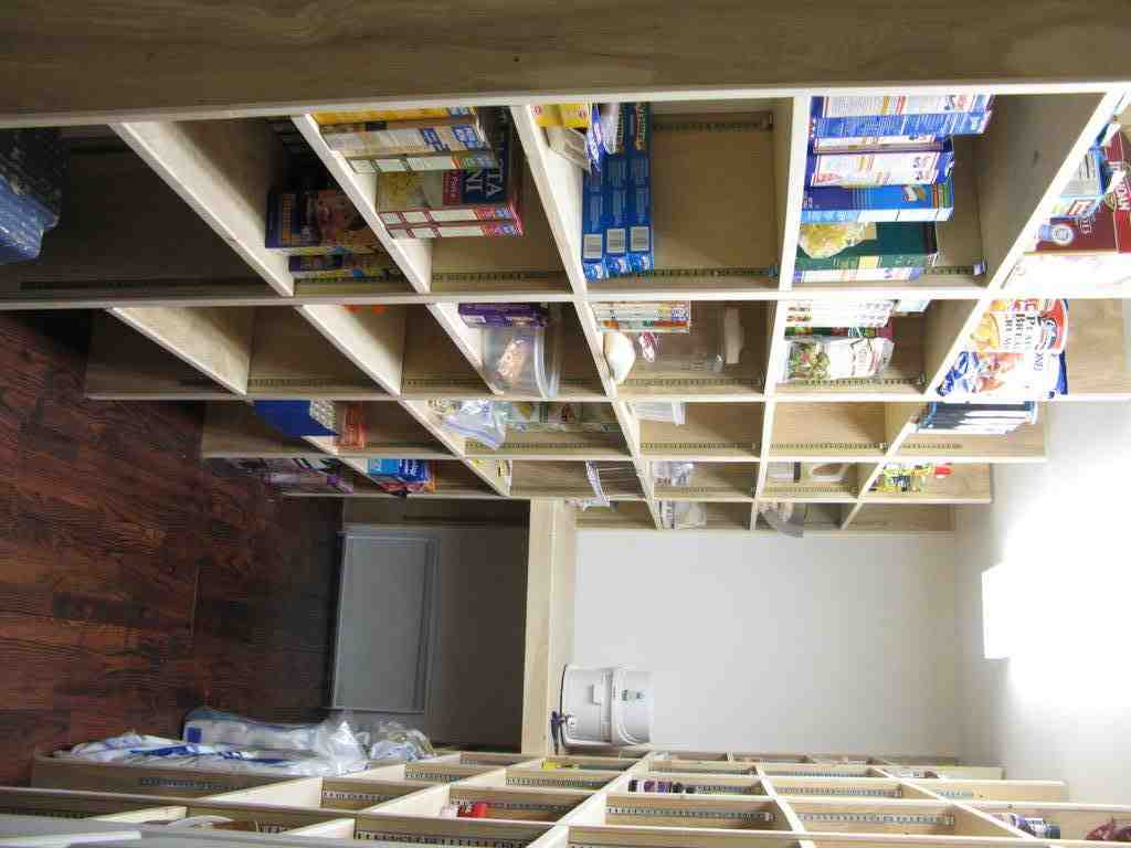 Walk in pantry shelving systems decor ideasdecor ideas for Best pantry shelving system