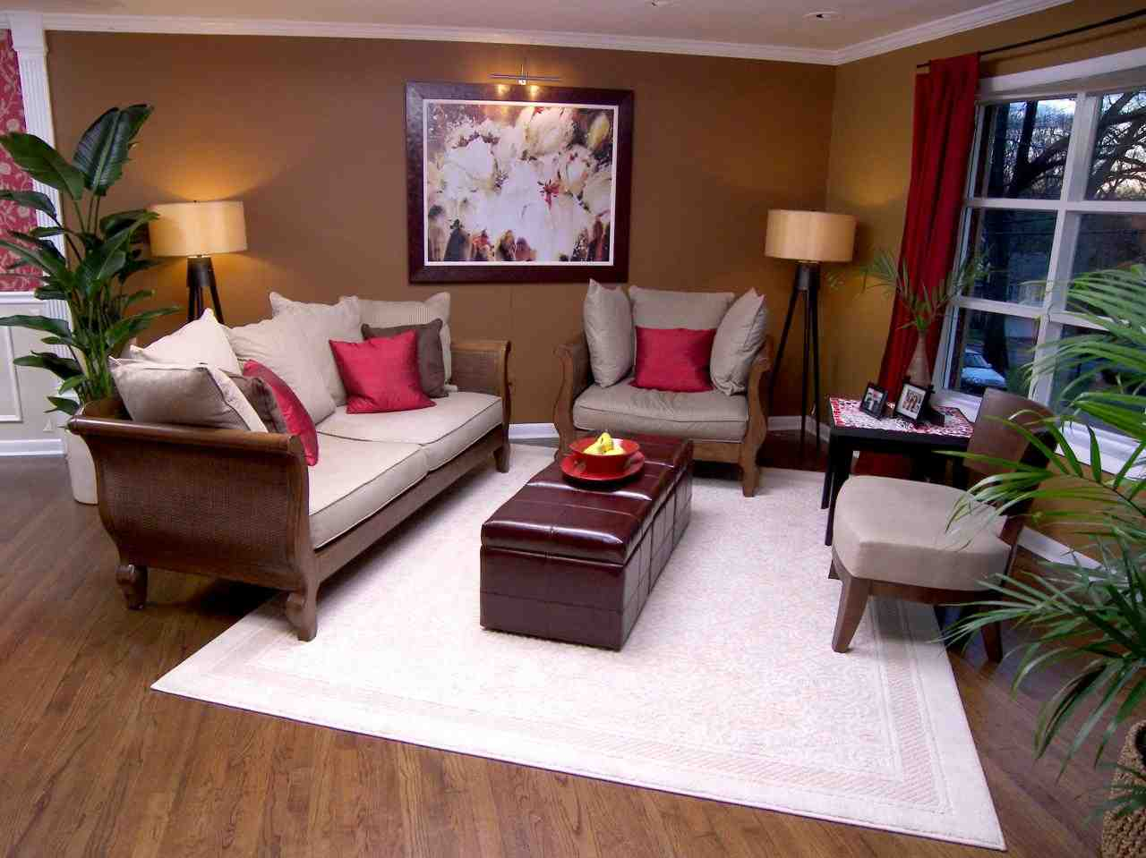 feng shui living room
