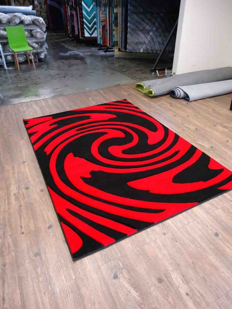 Black Red Area Rug Decor Ideasdecor Ideas