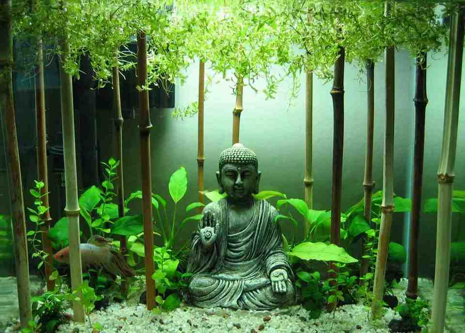 Buddha Aquarium Decor