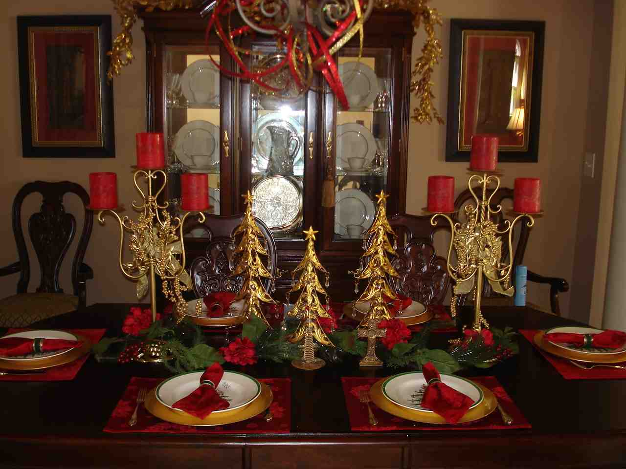 Christmas Dining Room Christmas Dining Room Table Decoration Ideas Decor Ideasdecor Ideas