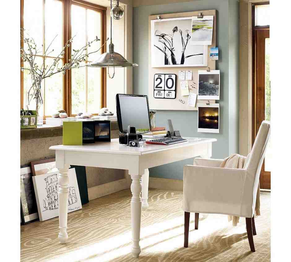 Small Home Office Ideas For Men And Women: Decorate Office Space At Work