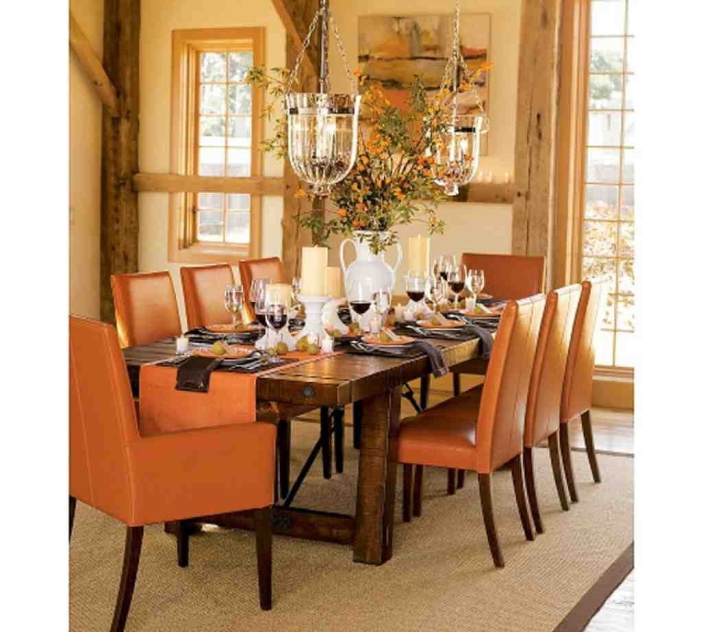 Dining room table decorations the minimalist home dining for Wood dining table decor