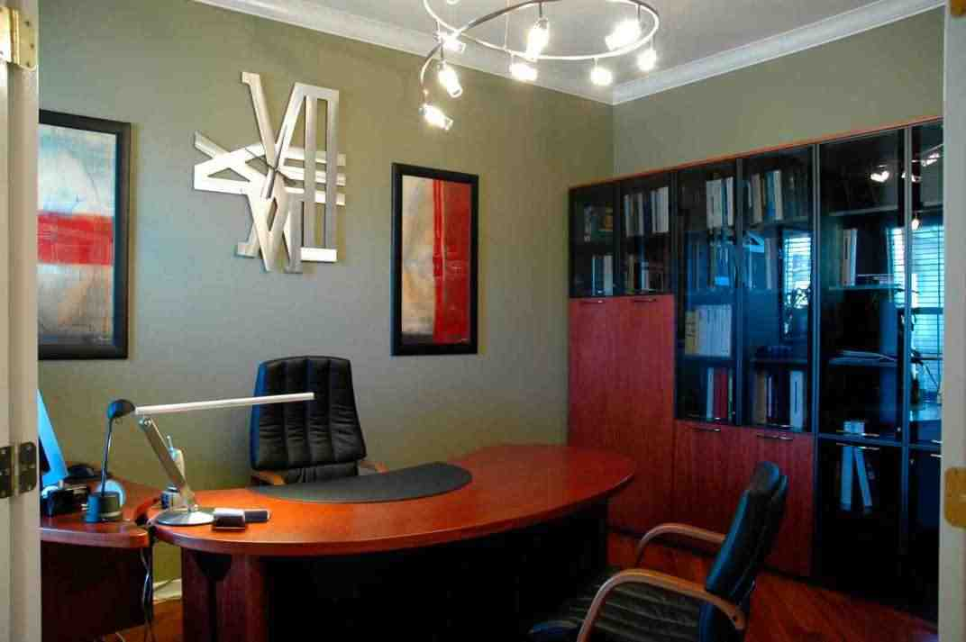 Ideas to decorate my office at work decor ideasdecor ideas for Small office interior design ideas pictures