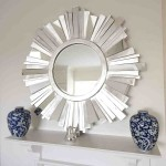 Large Starburst Mirror