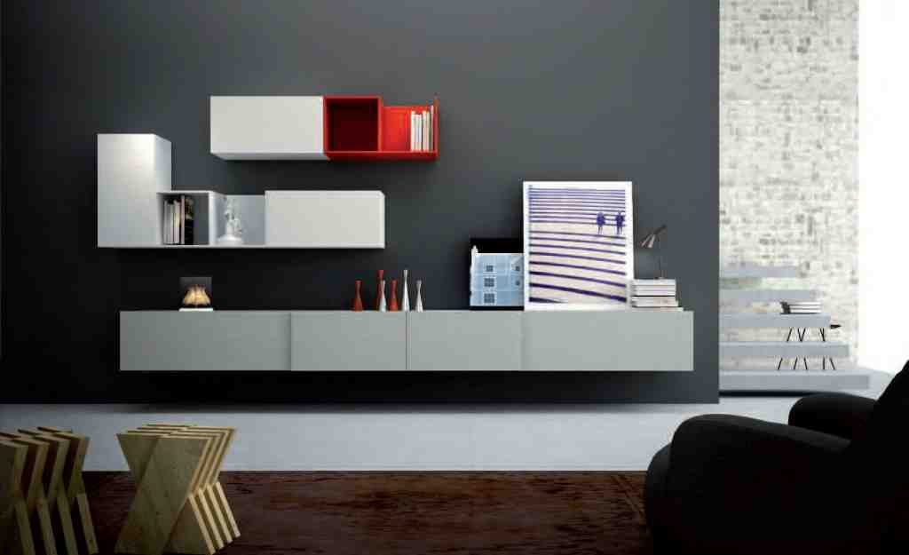 Living Room Wall Storage Decor IdeasDecor Ideas